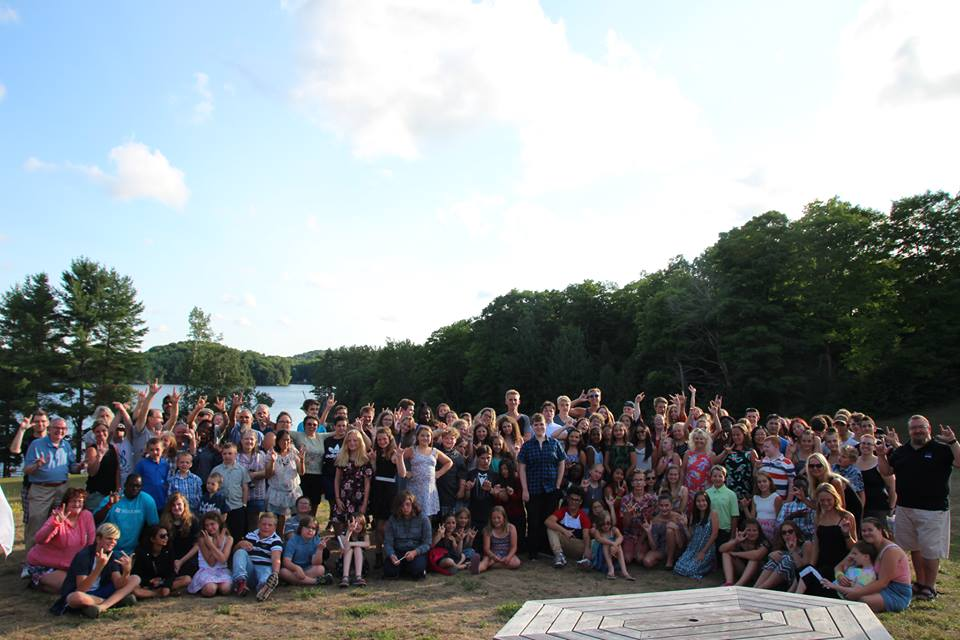 Bob Rumball Camp of the Deaf Group Photo