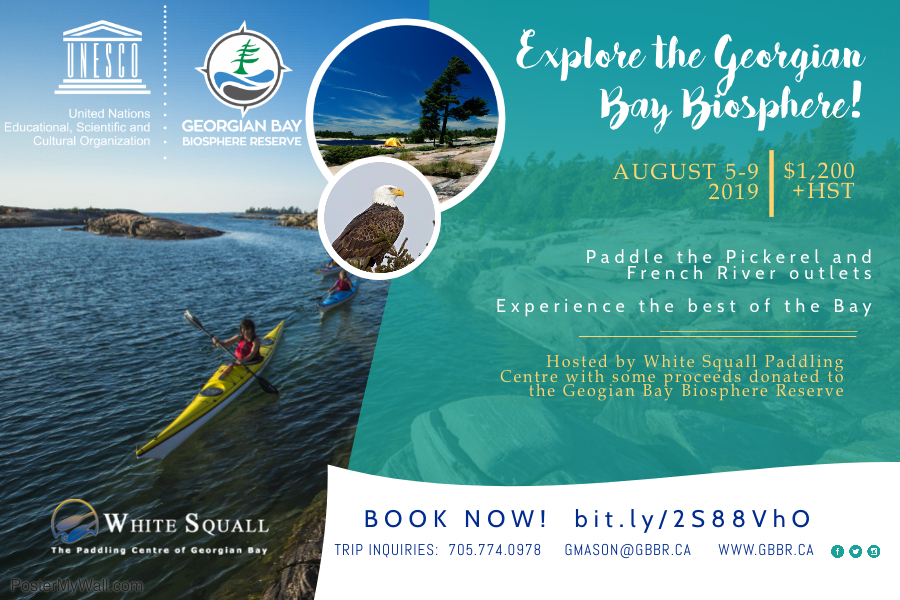 Biosphere Kayak Trip Advertisement